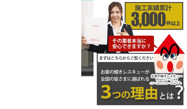 東京の地盤改良はお家の傾きレスキュー 株式会社ティーエム産業